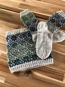 set van sokken met een col